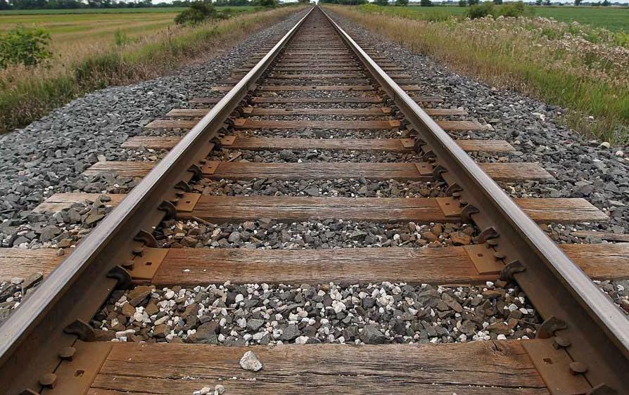 A linha do trem