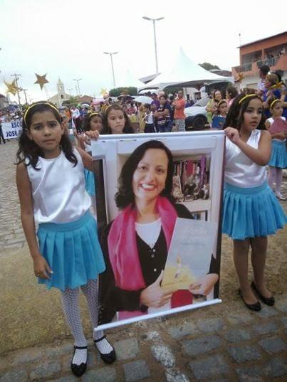Homenagem no Desfile de 7 de Setembro