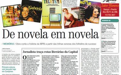 Rotas literárias de São Paulo no jornal Correio Popular